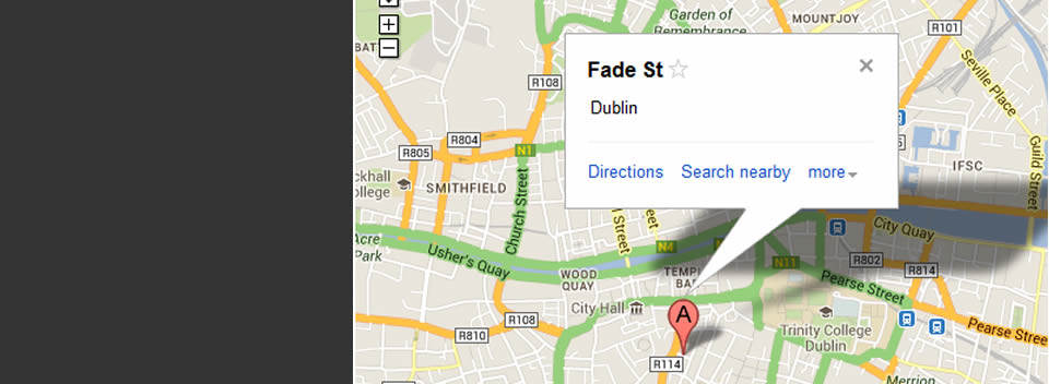 See Dublin by Bike – Find Us, Our Location