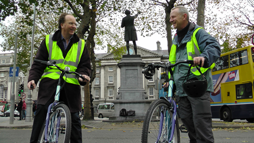 Your Dublin Bike Tour Guides