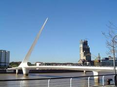The Beckett Bridge – how original?